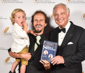 Bentley Murdock & Jack Canfield at the Quilly Awards Ceremony